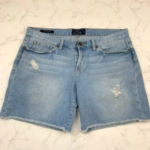 Lucky Brand Light Cut-off Distressed Laguna Shorts